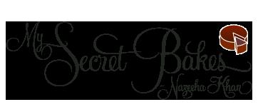 My Secret Bakes-Nazeeha Khan Logo